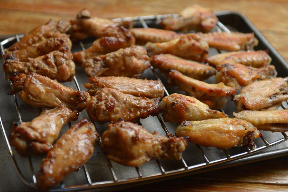 Gourmet Galley: Nontraditional wings make good snack, light meal _lowres