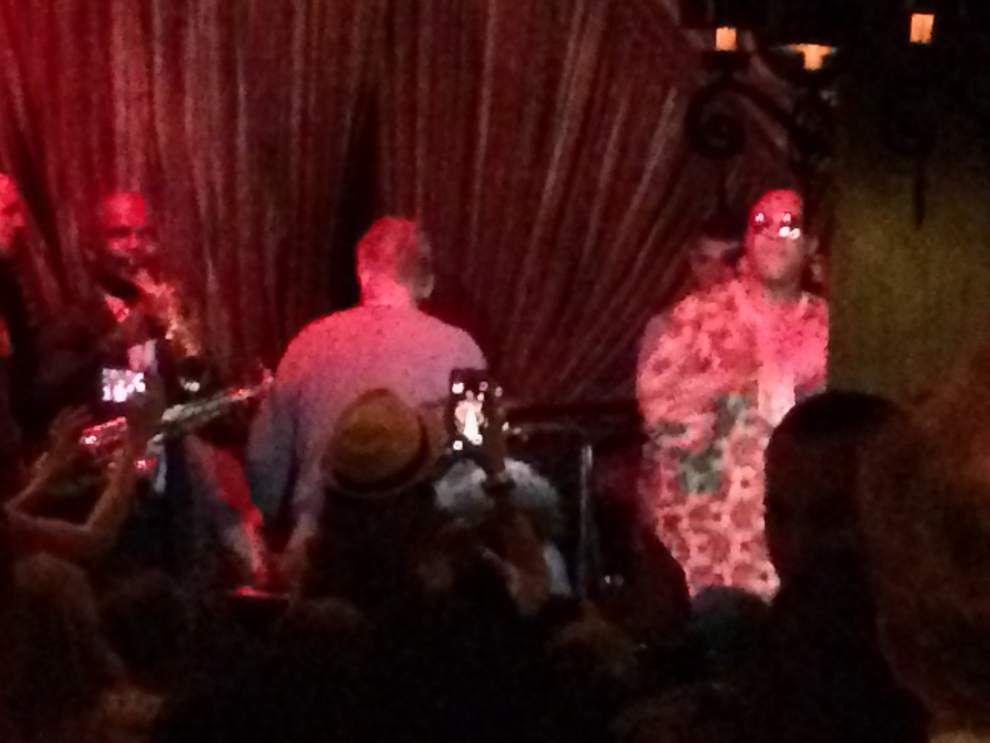 Stevie Wonder jams at Jazz Playhouse; Beck has fun in Quarter despite New Orleans Jazz Fest rainout _lowres
