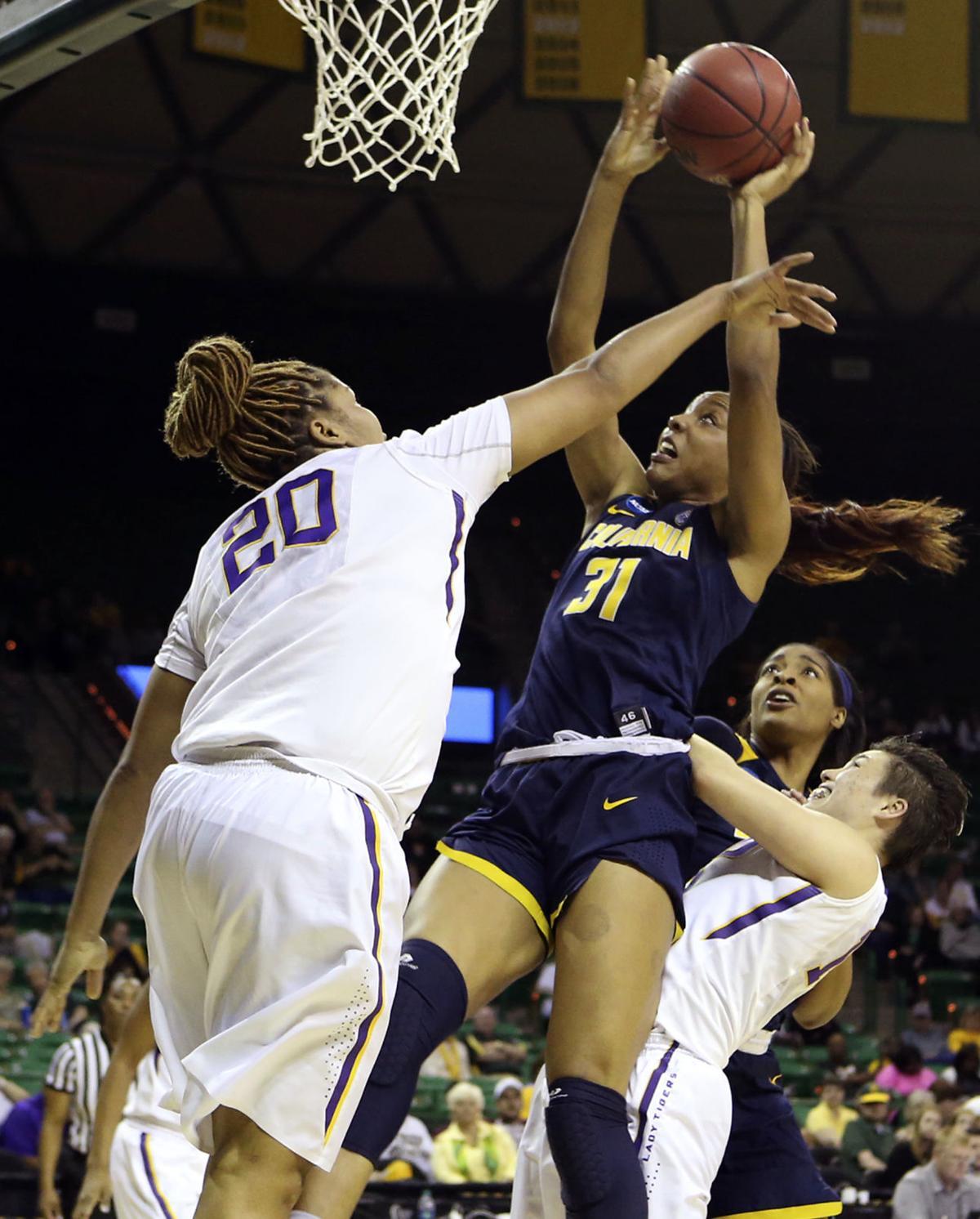 NCAA California LSU Basketball