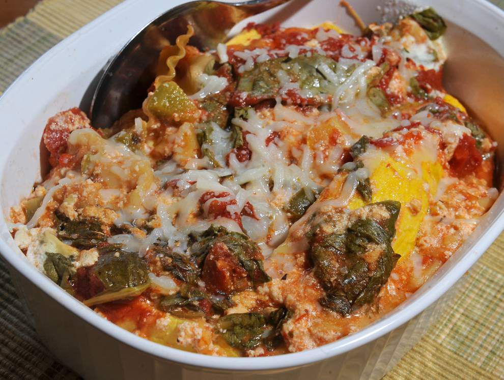 Squash and Spinach Lasagna _lowres