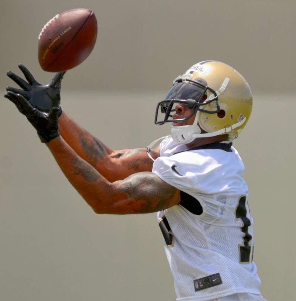 Source: Former Saints receiver Robert Meachem to work out for the Detroit Lions _lowres
