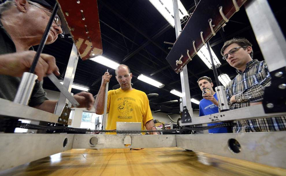 Raising the Robots: Woodlawn teacher recognized for work with robotics teams _lowres