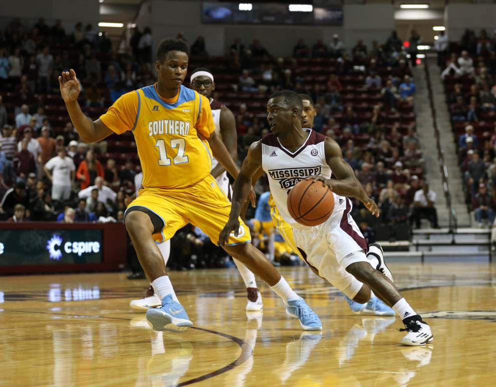 How about them Jags? Southern basketball pulls off big upset at Mississippi State, 76-72 _lowres