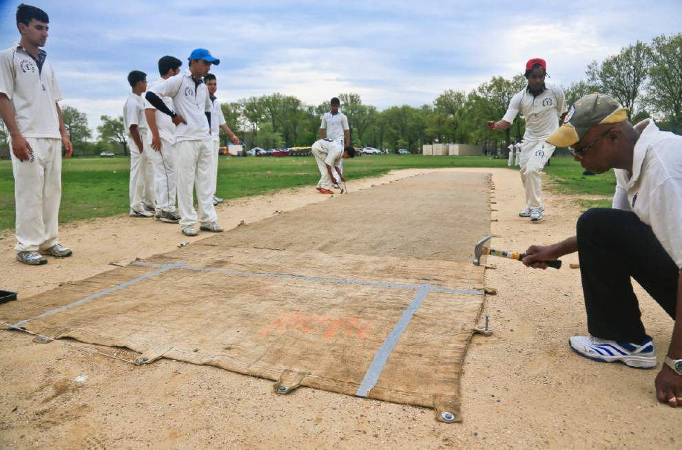 Immigrants fueling a U.S. boom in cricket _lowres