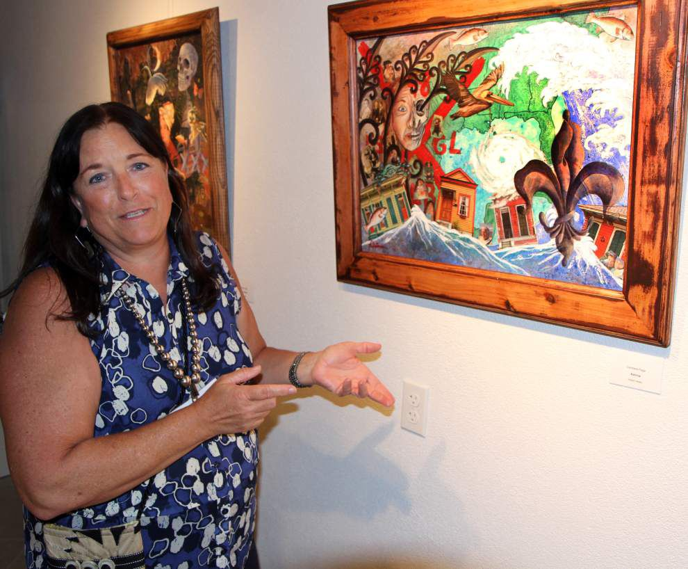 Slidell gallery commemorates '10' years since Katrina _lowres