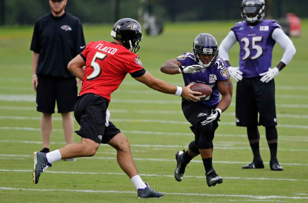 NFL suspends Ravens' Ray Rice for two games _lowres