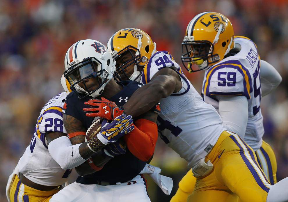 Video: LSU defensive end Danielle Hunter says the time for the Tigers to step up is now _lowres