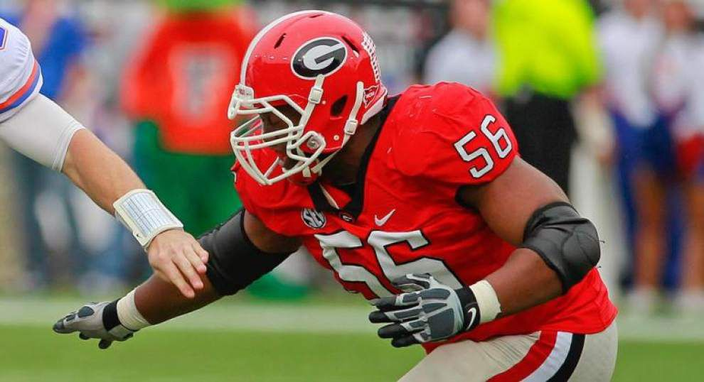 Source: The New Orleans Saints sign defensive lineman Garrison Smith to practice squaad _lowres