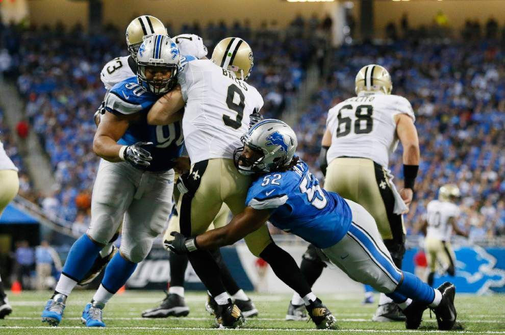 Film study: Who's to blame for the Saints' loss to the Lions? _lowres