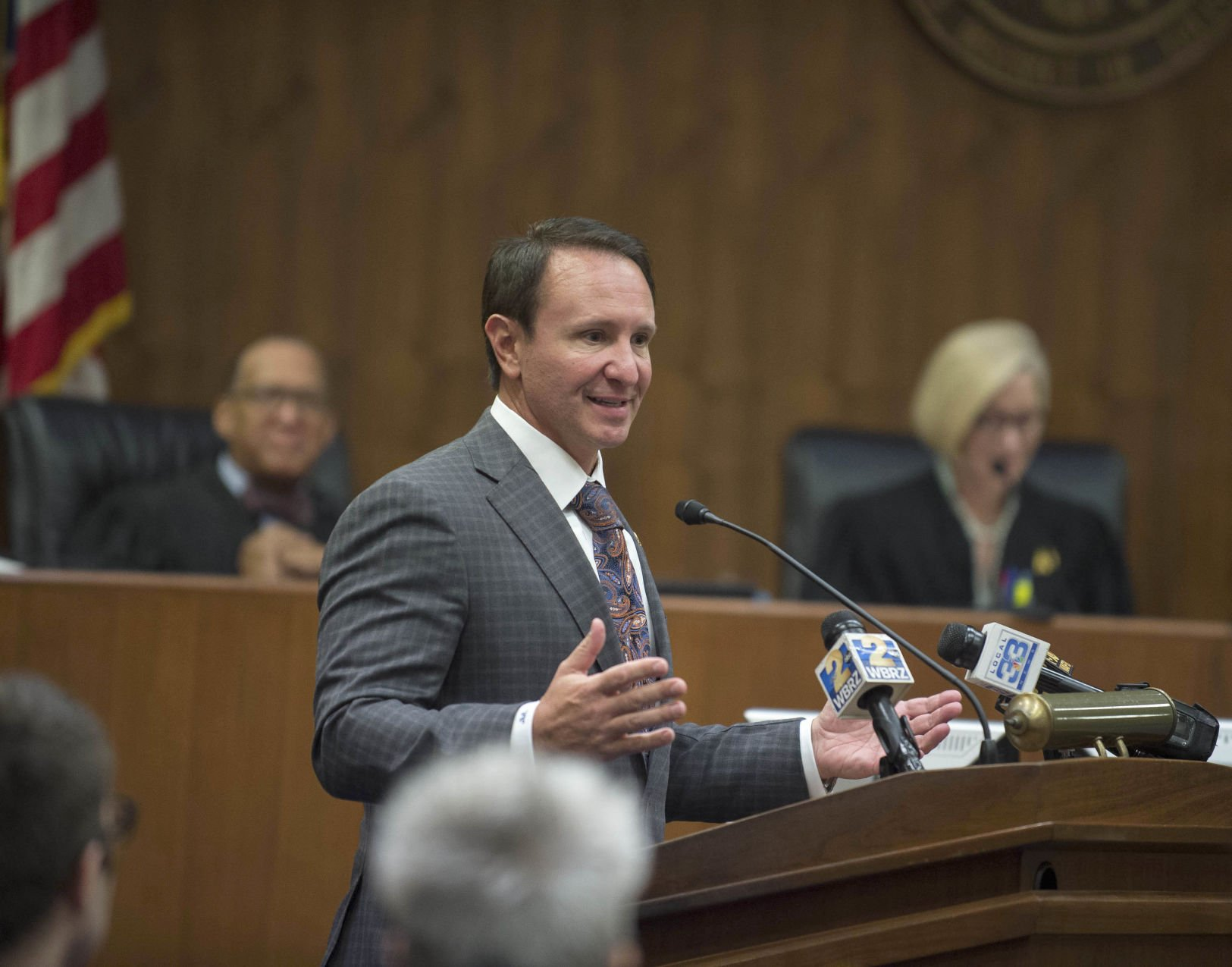 Jeff Landry for in/out gov race collection