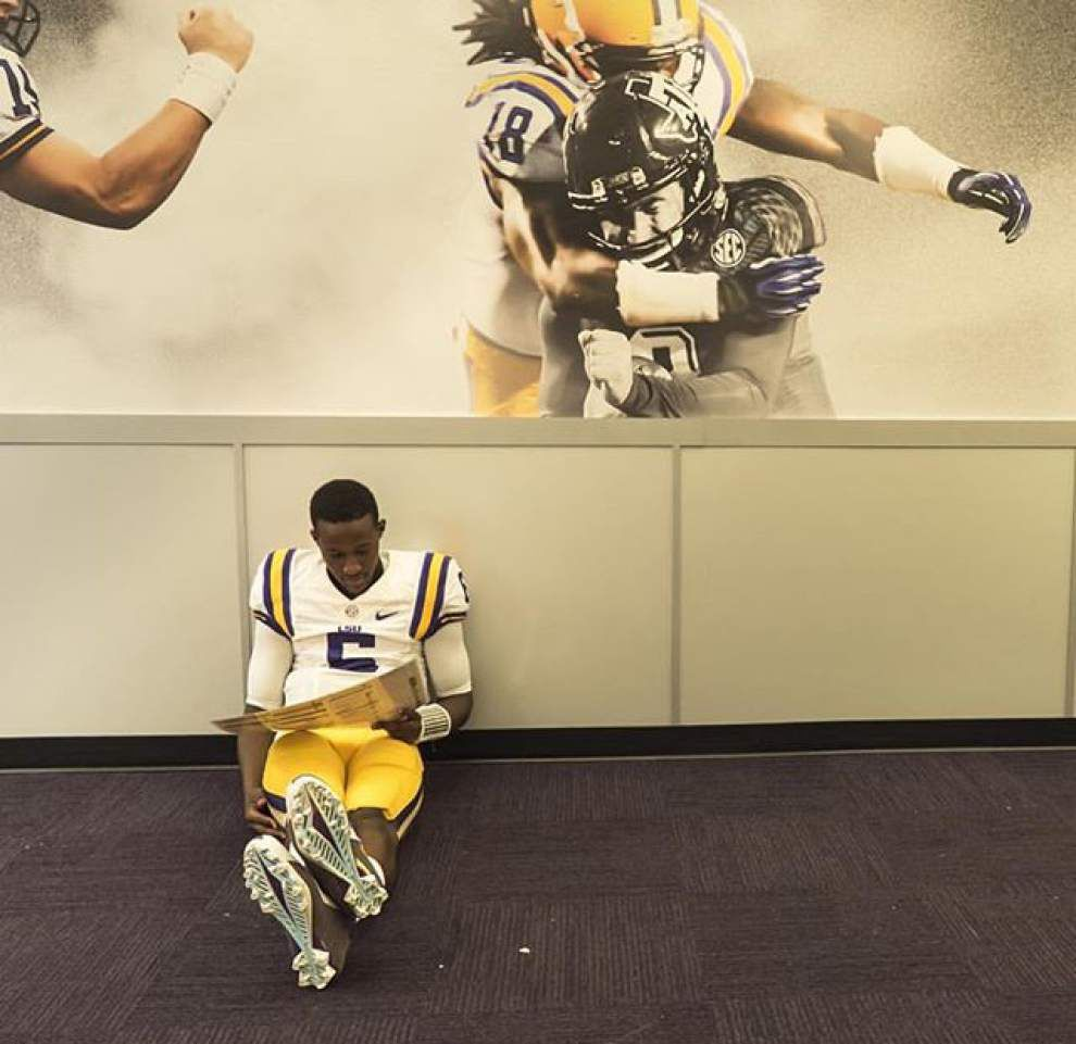 Rabalais: Why LSU's Brandon Harris 'more than ready' to take field against Mississippi State _lowres