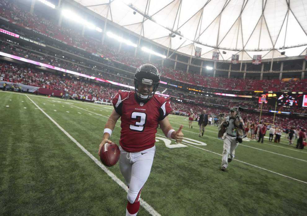 Saints power two Atlanta Falcons to NFC player of the week awards _lowres
