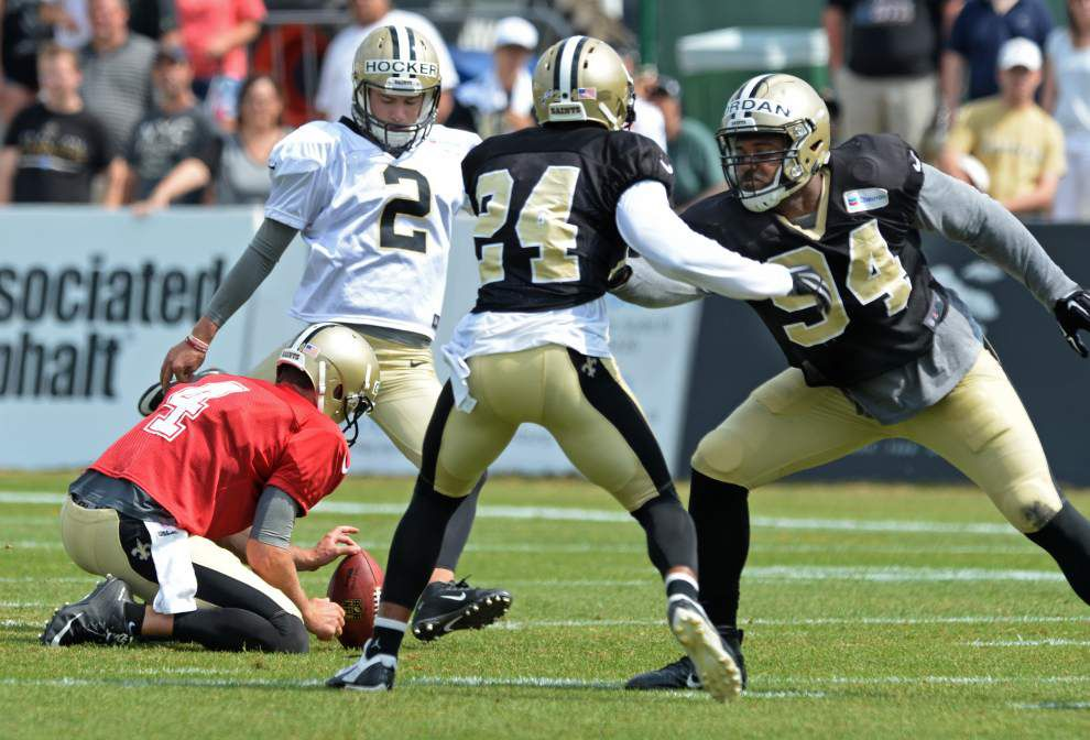 Position battles, who's in and out: What you can expect to see when Saints face Patriots _lowres