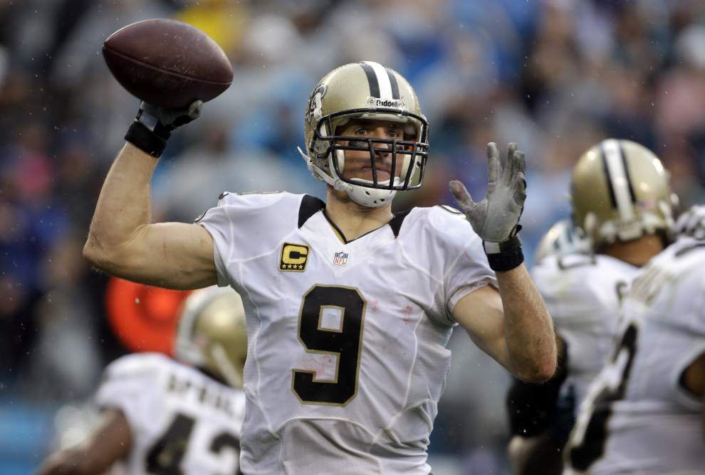 Video: Brees says he held the ball too long a few times against Panthers _lowres