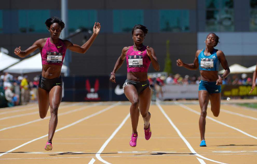 LSU's Kimberlyn Duncan finishes second in U.S. Outdoor 200 _lowres