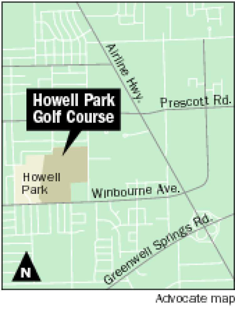BREC looking for input on future of Howell Park Golf Course _lowres