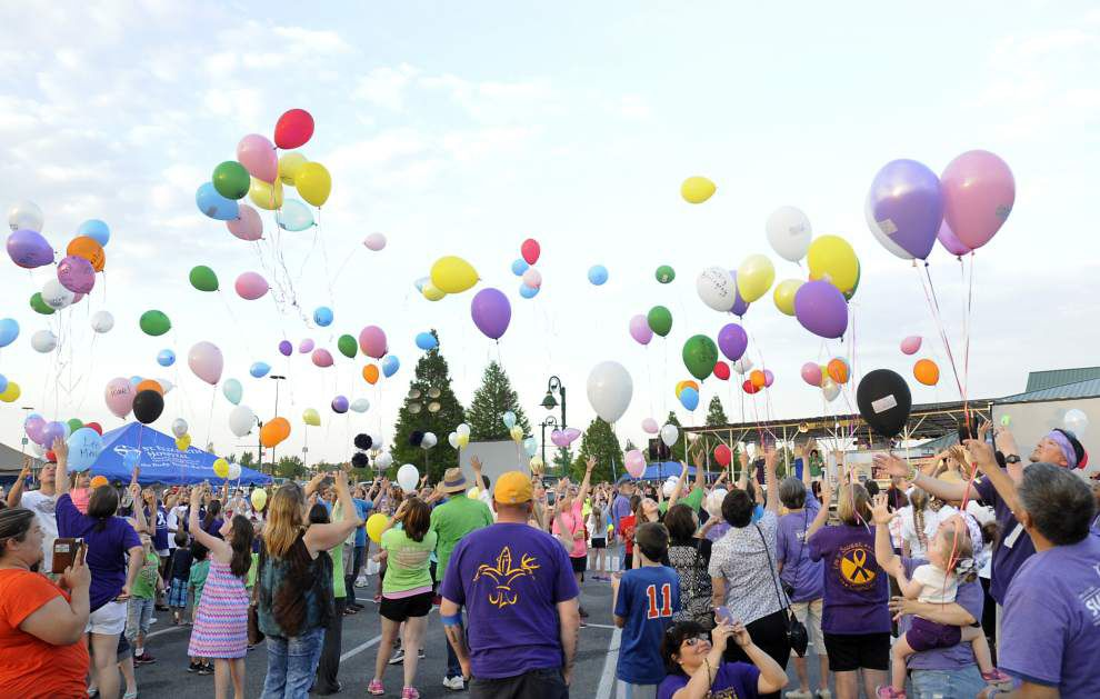 Relay for Life rally held in Gonzales _lowres