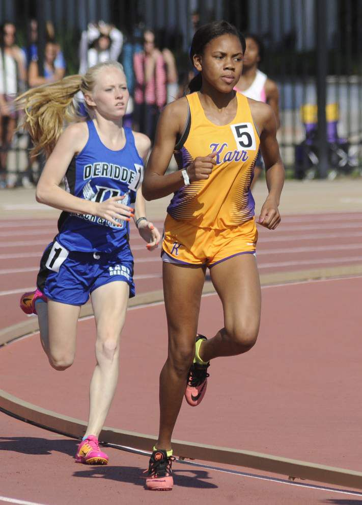 State track: Karr girls claim Class 4A team title for second straight year _lowres