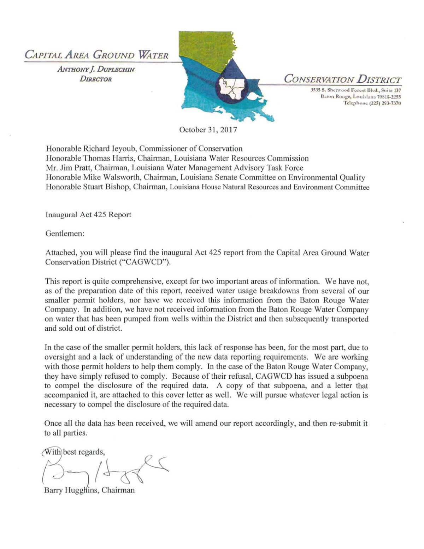 Read the letter, subpoena here