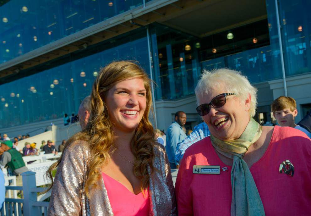 Ted Lewis: Fair Grounds' Sandra Salmen readies to call it a career _lowres