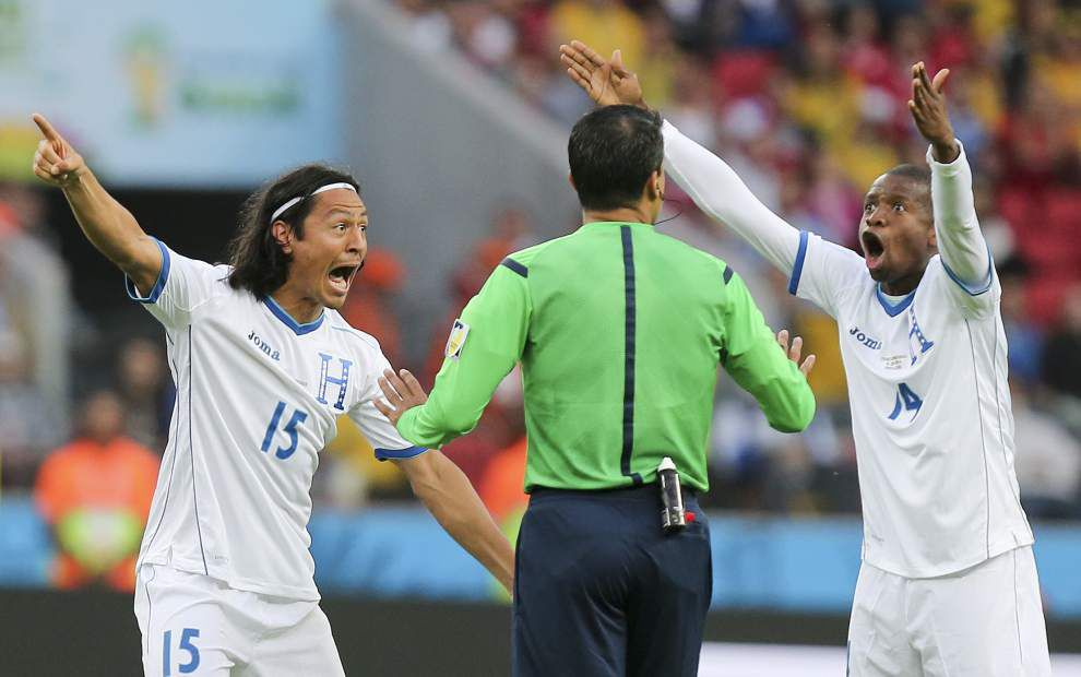 World Cup roundup: France cruises past Honduras _lowres