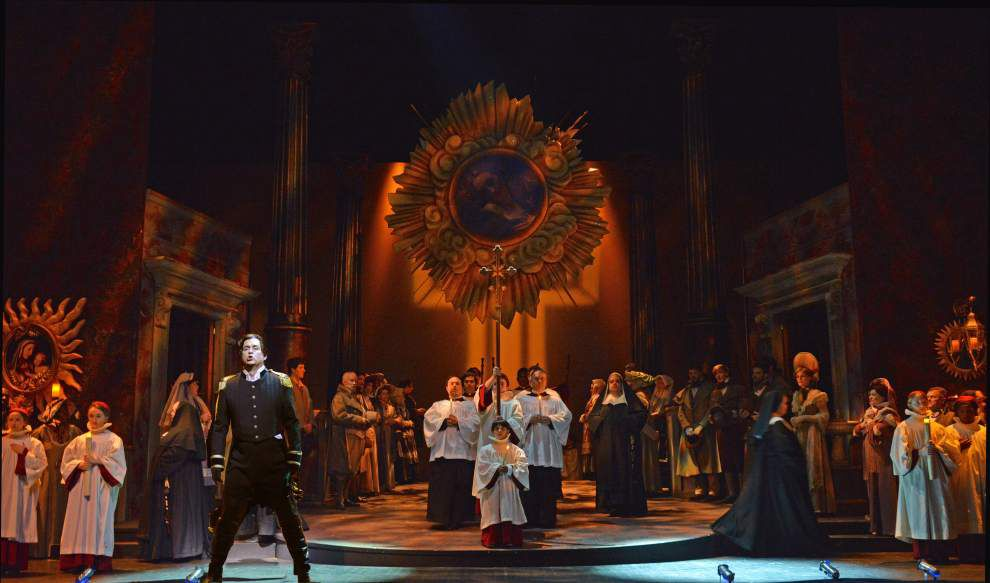 New Orleans Opera ends season with intensely dramatic 'Tosca' _lowres