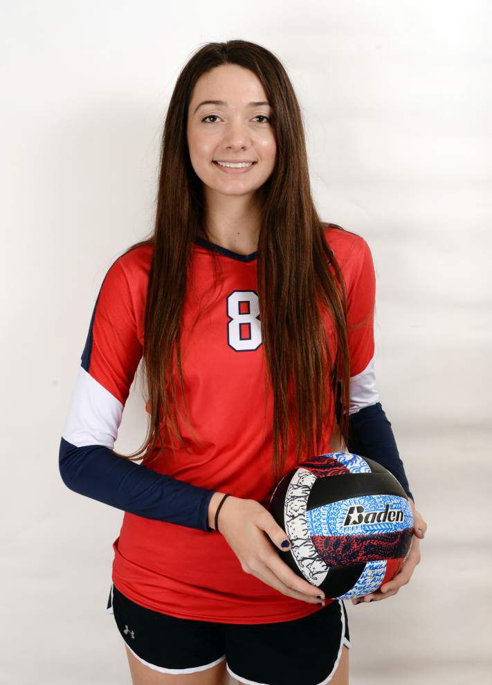Avery Breaux of St. Thomas More and Grace Morgan of Notre Dame top The Acadiana Advocate's all-metro volleyball teams _lowres