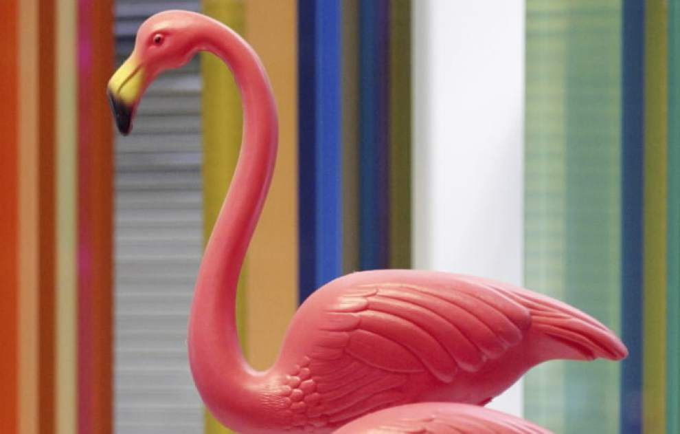 Submit your own decorated plastic pink lawn flamingo in exhibit contest at Old State Capitol _lowres