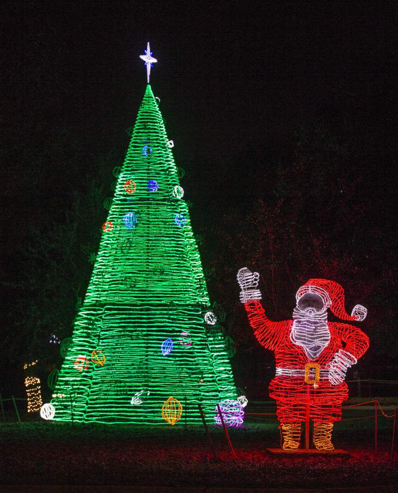 Photos: Lafreniere Park Christmas lights _lowres