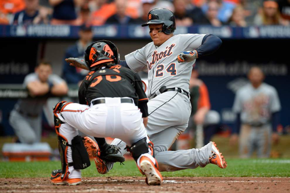 Orioles rally past Tigers 7-6 to take 2-0 ALDS lead _lowres
