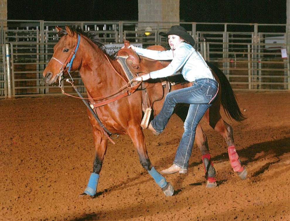 Slaughter teen competing in rodeo nationals _lowres