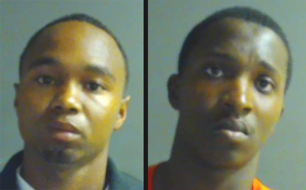 Two men indicted in the May 12 killing of a 20-year-old Baton Rouge man on East Grant Street _lowres