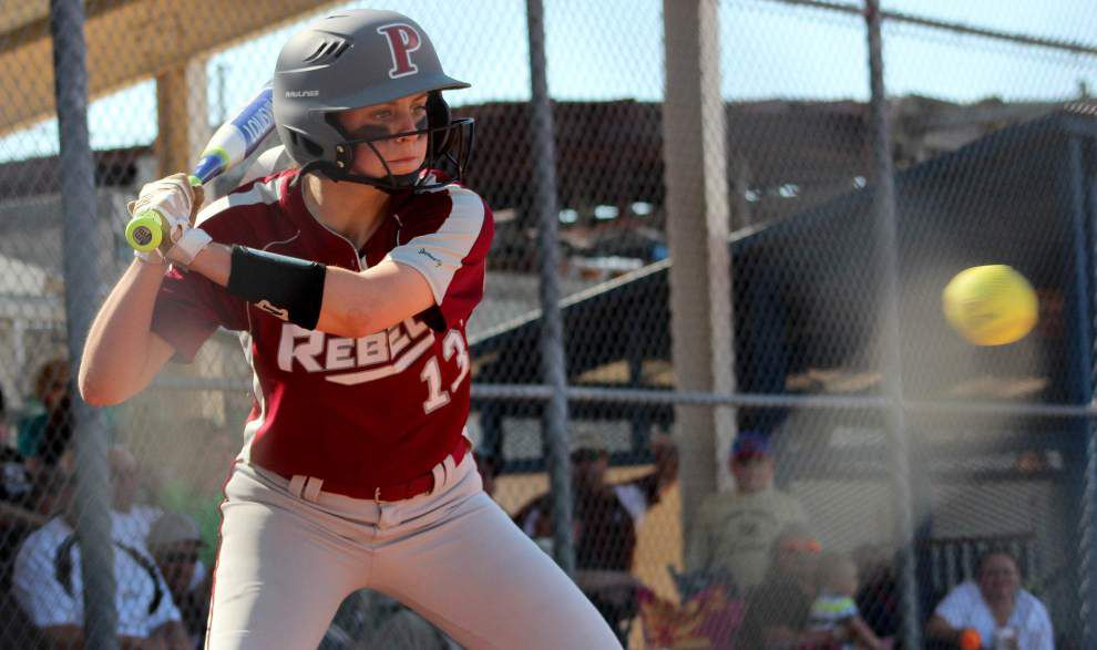 Pineville's 'complete effort' upends Mount Carmel in softball playoffs _lowres