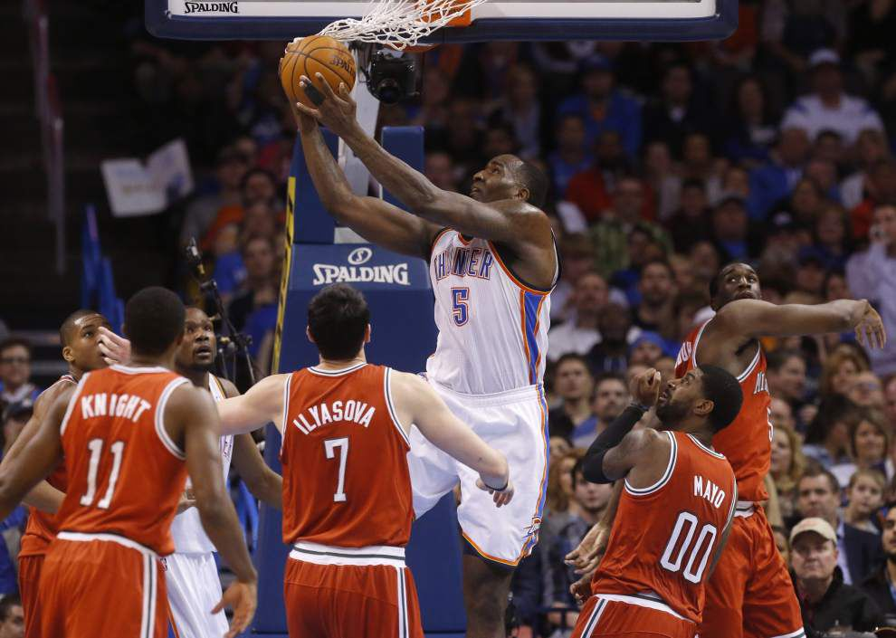 Sources say Pelicans close to signing center Kendrick Perkins _lowres