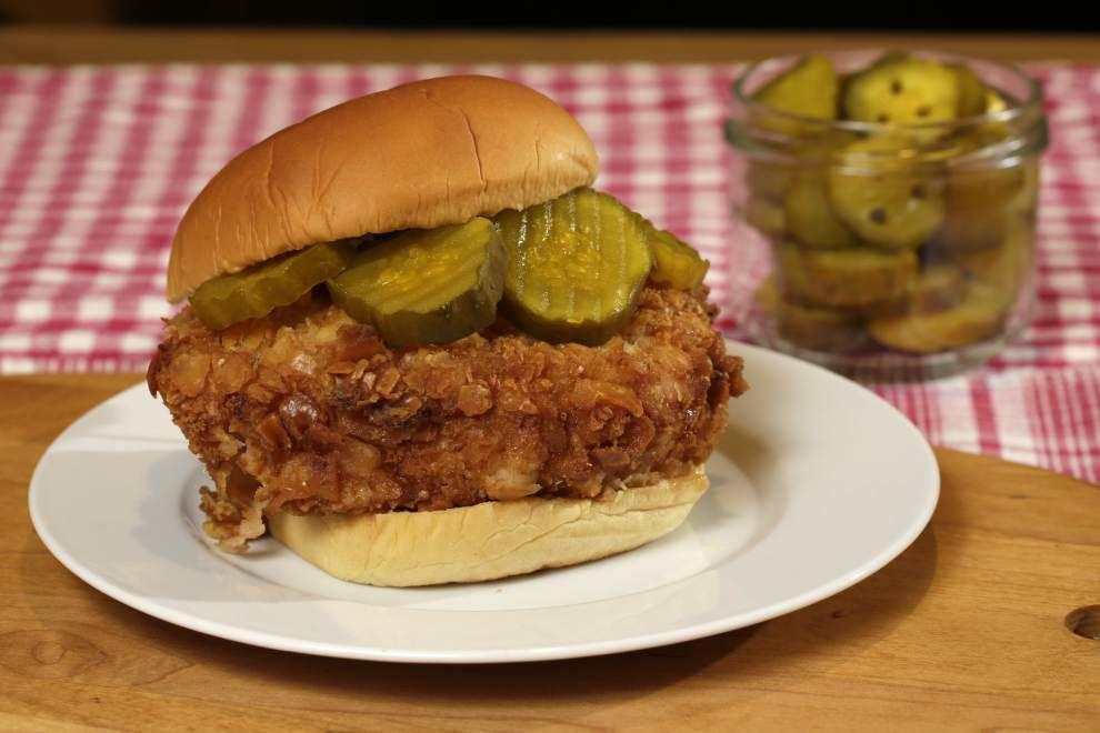 Chicken sandwich gets makeover _lowres