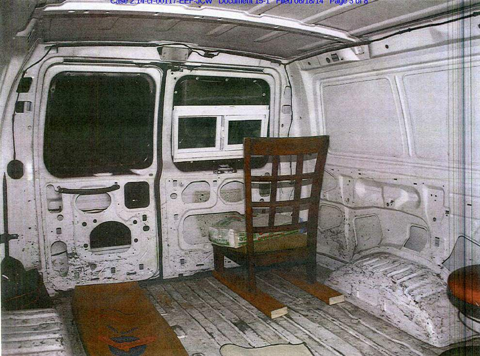 Prosecutors defend search of 'sniper van' without a warrant _lowres