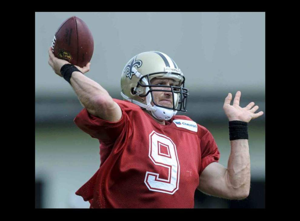 Brees expects to play in Saints' 3rd preseason game _lowres