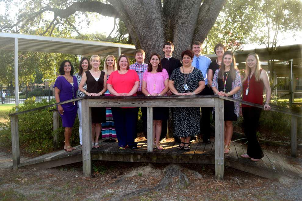 Thirteen alumni return to St. Thomas More as educators _lowres