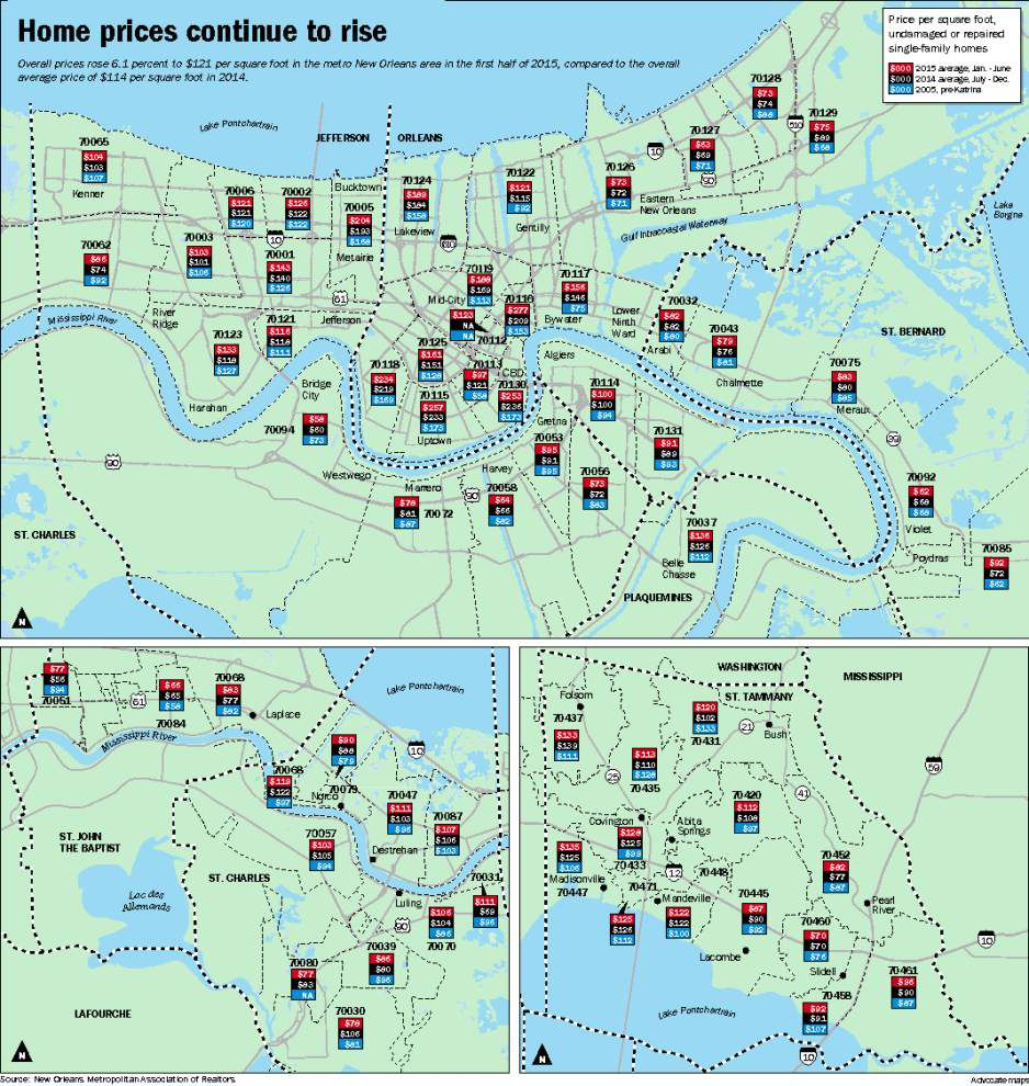Why New Orleans-area home prices are skyrocketing; check out where increases are biggest _lowres