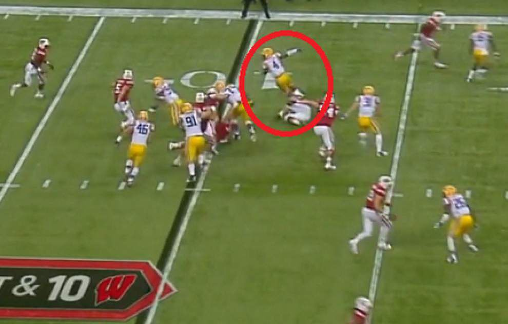 Film room from LSU's 28-24 victory against Wisconsin _lowres