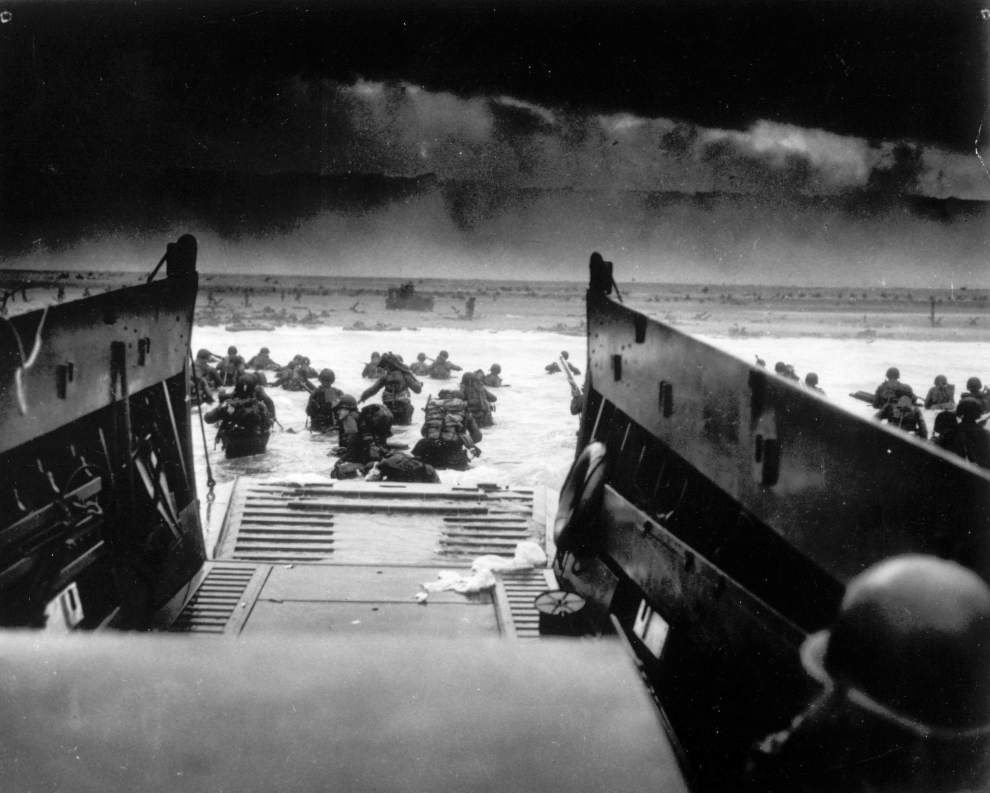 Our Views: D-Day will always be a beach day for heroes _lowres