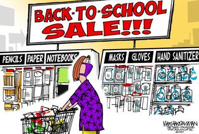 Walt Handelsman: 2020 School Shopping