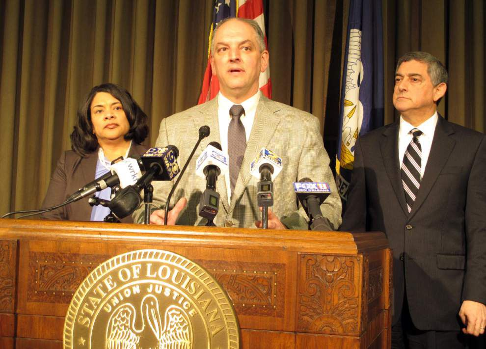 With not many 'appealing options,' Gov. John Bel Edwards, state leaders tackle $1.9 billion budget shortfall _lowres