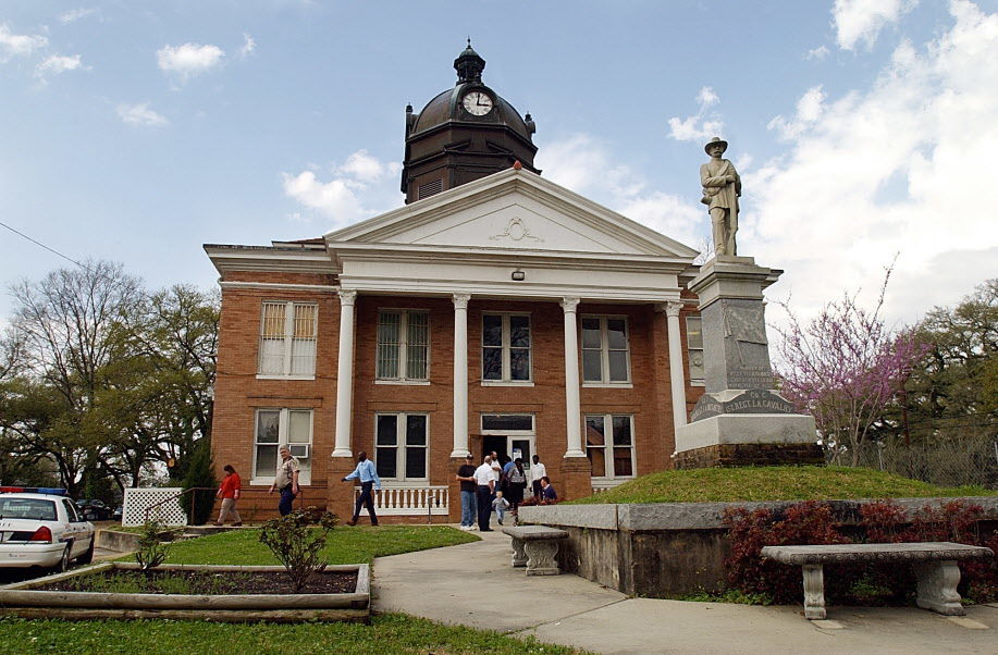 West Feliciana Parish courthouse... 03/13/03