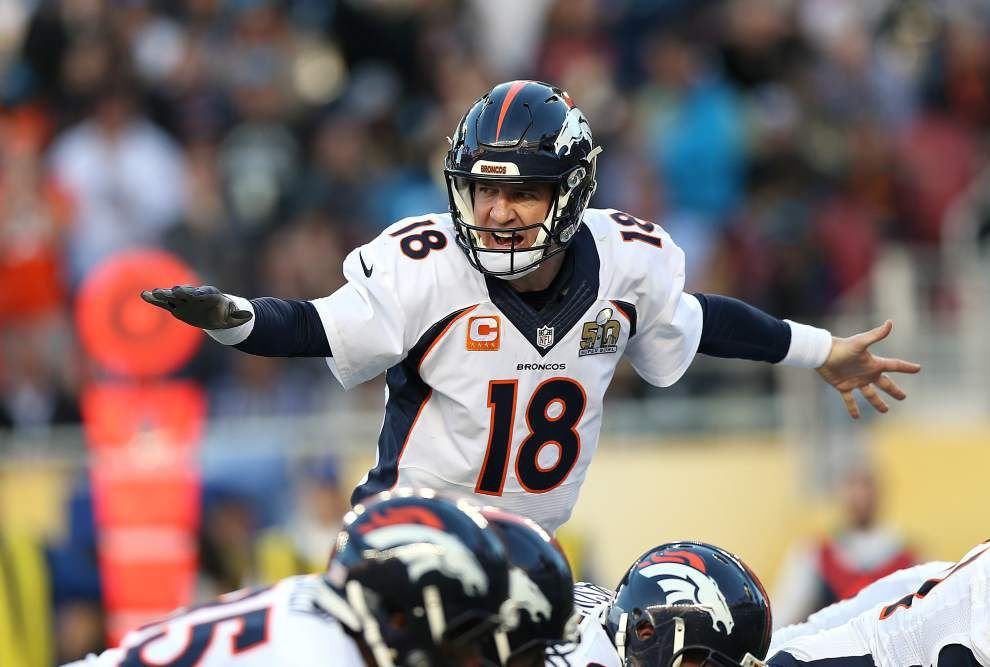 Erickson: If this is it, Peyton Manning penned perfect ending to career in Broncos' Super Bowl 50 victory _lowres