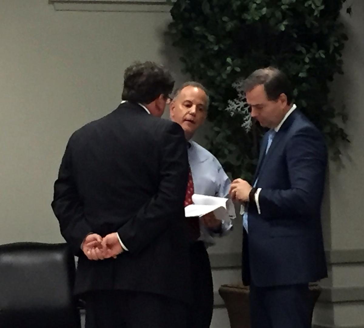 Angelle and May discuss settlement