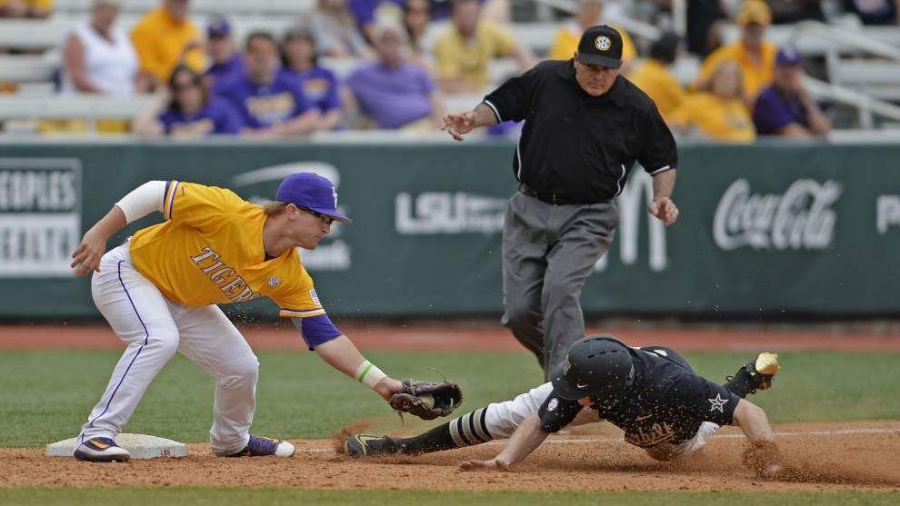 LSU baseball back in Top 10 conversation as polls react to series win over No. 2 Vanderbilt _lowres