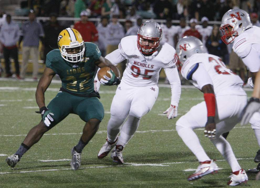 Nicholls State rallies, drops Southeastern Louisiana on last-second field goal to win River Bell Classic _lowres