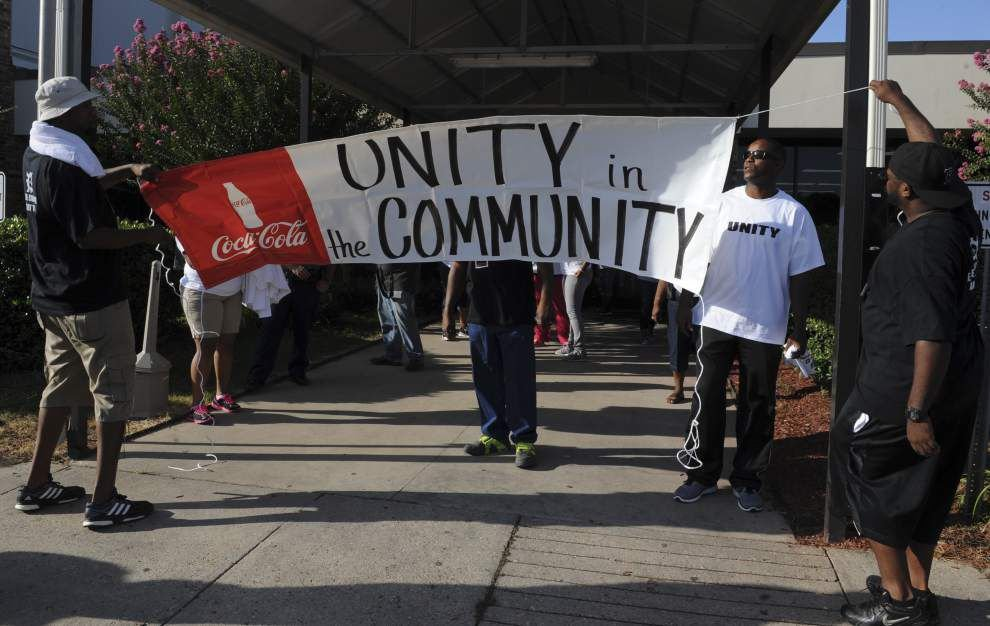 Photos: Lafayette holds Unity for the Community Rally and March _lowres