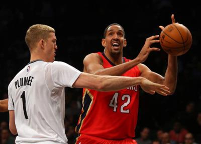Balanced scoring lifts Pelicans to 111-91 victory at Brooklyn _lowres